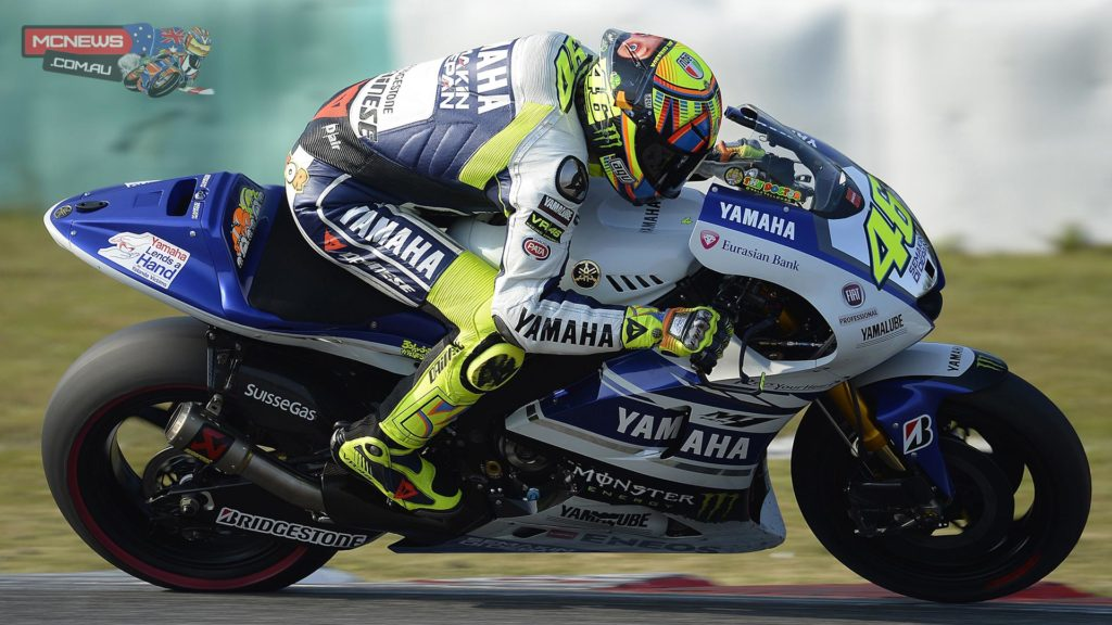 """Valentino Rossi - 2nd / 1'59.727 - """"The test has been very good, I'm very happy, especially for the second position and more than that for the lap time which is the best of my career in Sepang. It's the first time under 2'00 for me and just one tenth from Marc and the overall record of the track. I found a good feeling with the bike, we found some good solutions and it's been very positive. We tried a simulation in the afternoon that was very good to understand any problems. We suffered a bit to keep a good pace but it wasn't so bad. For the first test the balance was good."""""""