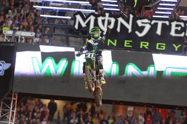 Davalos' Long Awaited 250SX Class Main Event Win - Photo Credit: Simon Cudby