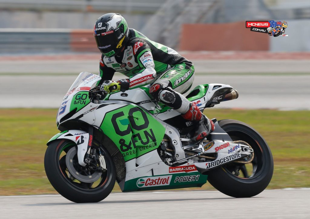 """Scott Redding (GO&FUN Honda Gresini): 18th, 2m 02.833s - """"Today we worked pretty well, especially at the beginning of the day, trying some suspension solutions and varying bike position. However, it seems that we are stuck on these lap times: at the moment we are not able to find something that allows us to make a significant step forward, therefore our lap times are always the same. We must take into consideration that today the track was not in the best conditions, so it's good that Hayden went fast anyway: this makes us confident. We are convinced that we can close the gap to Nicky, but we need to find a solution to improve. Tomorrow we will continue to work, especially with regard to braking, while on the electronics side we have already reached a quite good setting."""""""