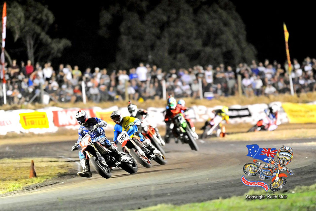 Herfoss leads Kirkness in Troy Bayliss Classic Final
