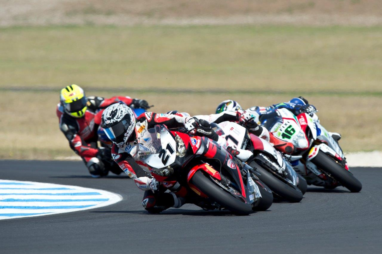 For Hook, Stauffer and Allerton (BMW), the Phillip Island Championship will mark a welcome return to the national support fold after competing as wildcards in the international classes at Phillip Island in 2013.