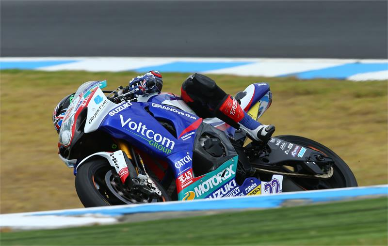 """Alex Lowes (5th): """"Today was good. The wind was really bad and affecting the bike a lot, but we still made some progress in certain areas. I'm looking forward to going out tomorrow and confirming that it is definitely better when the weather's more favourable. I really like Phillip Island; when a track is as windy as it's been today it is hard to enjoy it, but I think it's a great track, and I'm looking forward to the racing here. I still need to work hard to see if we can be in a good position for tomorrow and the race on Sunday, we have a lot of refinements still to do with the electronics and the suspension so we'll put our heads together tonight and see what we can improve for tomorrow."""""""