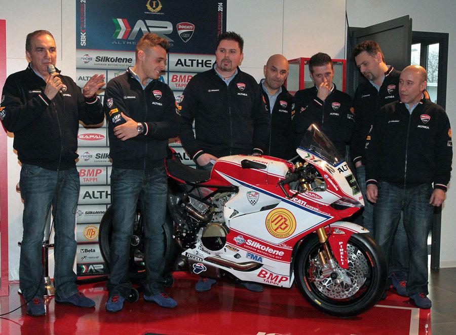 Team Althea Racing presents its new 2014 squad