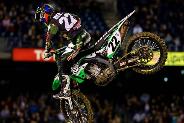 Tied in 450SX Class victories, Chad Reed - Photo Credit: Hoppenworld