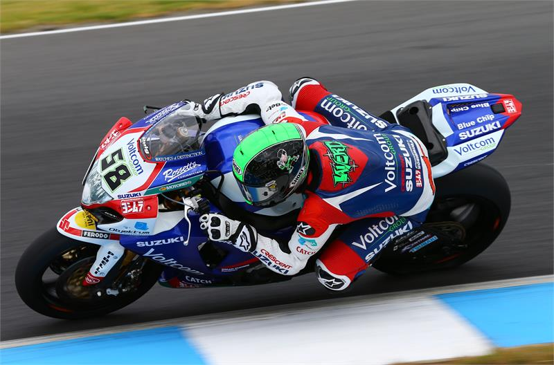 """Eugene Laverty (4th): """"The weather turned on us a little bit today so we lost one practice session, but it was the same for everybody. The second practice we tried a different tyre and got some work done because we have got a lot of rear tyres to try and evaluate. We will have a study of the data collected and make a plan for tomorrow but everything so far is going to plan."""""""