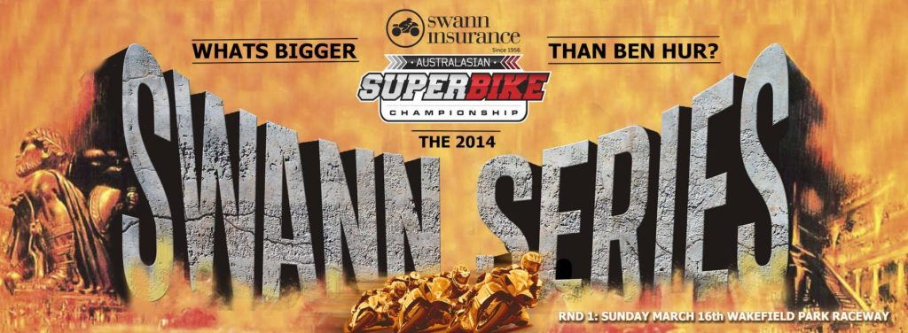 Australian Road & Track Rider Promotions has announced that the major naming rights sponsor for the 2014 Australasian Superbike Championship will be Swann Insurance.