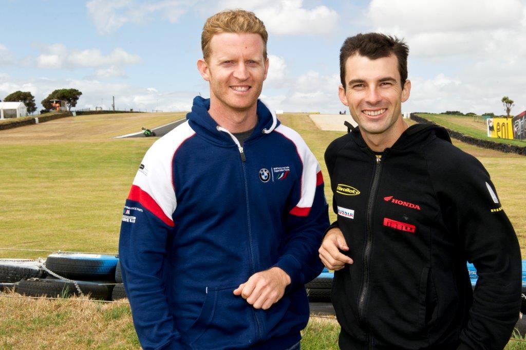 lr Australians on the Phillip Island world championship grid...Glenn Allerton for world superbike and Bryan Staring for world supersport