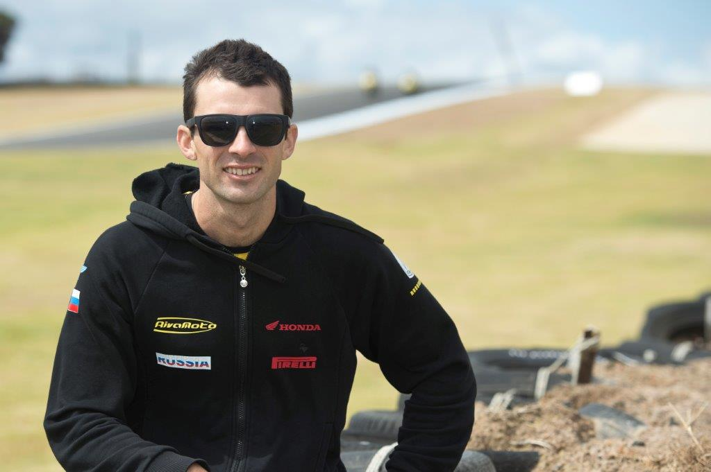 lr Bryan Staring will commence his world supersport campaign this weekend at Phillip Island