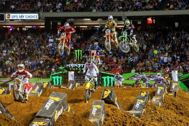 450SX Class Main Event in Atlanta - Photo Credit: Hoppenworld