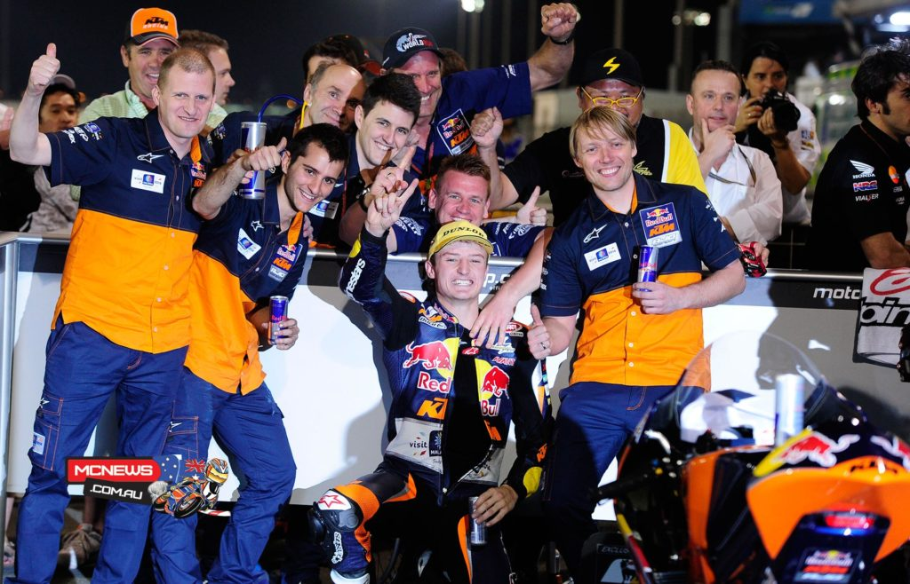 Jack Miller celebrates win at Qatar