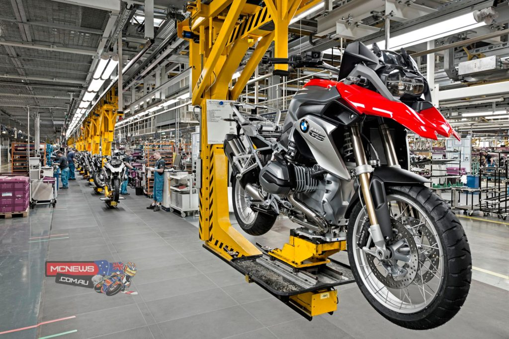 Since 1969 motorcycles have been manufactured for the world market in Berlin-Spandau and since 1980 the BMW Motorrad GS models with boxer engine, too.