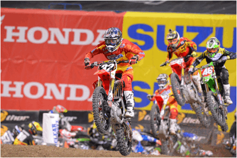 Bogle is the newest winner in Monster Energy Supercross. - Photo Credit: Simon Cudby