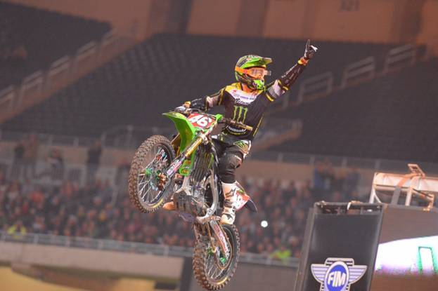 Cianciarulo is the only three-time winner in the 250SX Class - Photo Credit: Simon Cudby