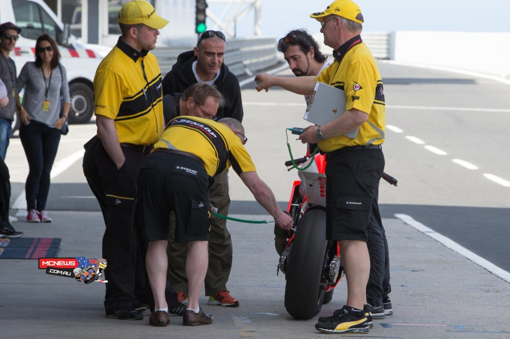 Dunlop Tyre Testing
