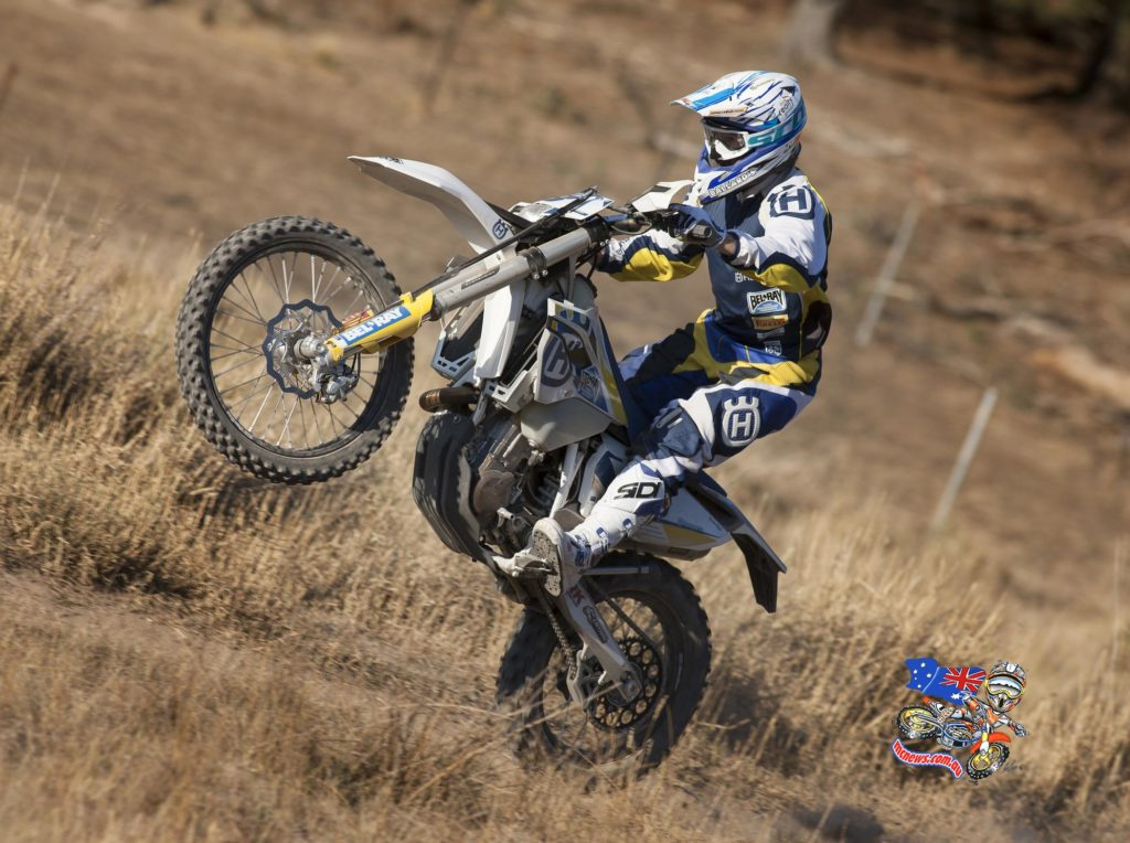 "Husqvarna Enduro Racing Team Manager Glenn Kearney (FE501): ""We are all pretty excited, we've been working with Christian Horwood, our new full-time race mechanic on getting all the bikes set up after our recent suspension testing. I think everybody's pretty comfortable and ready to roll. We have made good progress with the limited time that we've had, but everything is happening so quick and we're only going to get better.  We're looking for some real solid results out of this weekend. I'm real confident on the new bike and with the times I've been doing on the test track I'm looking for big things. Lachy is going to be out to impress - he's a big kid and the 450 really suits him. He's also another year older, fitter than he's ever been and real committed. Scotty's done the most testing of all of us so he could really come out swinging. With the first race it's always interesting to see where everyone is at, but I'm more than confident the Husqvarna team will be at the pointy end."""