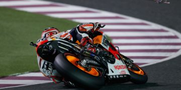 """Marc Marquez - 1st - 1'54.507 - """"I'm really happy and this pole position is a special one for me, because after coming back from injury it gives me a boost in confidence. In any case, we know that tomorrow is the day that counts and it's in the race that points are decided, so we have to be very focused. It is going to be a very tough for me physically, because I don't have much strength in my leg and I have to compensate with my right arm. We are happy with how today went and seem to have found a good setup, with just a few details still to refine in tomorrow's warmup. It will be difficult, because many riders have pace within a tenth of each other, but we shall try to have a good race"""""""