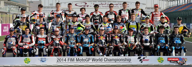 The 2014 Moto3 World Championship riders