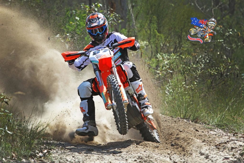 "Toby Price KTM 450 EXC: ""It's been a good week leading up for us, we did the 12 hour last weekend, a little testing and some photos and I'm coming in feeling pretty good with the body and the fitness, so we'll wait and see how it all pans out. The sprint format should be fun so we'll just go out there and try to lay down fast laps and see where that puts us at the end of the day. I'll be riding the KTM 450 EXC in the AORC series and the last time I rode the 450 back in 2010 was one of my best years, so I hope to kick that off again. It won't be as easy this time, but I'll just try to be smooth and consistent for the series and see what results that brings us."""