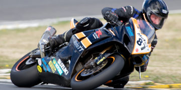 Scott Moir on his way to winning the NZ Tourist Trophy at Taupo 2014