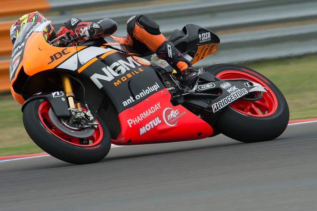 """Colin Edwards - 20th, +1'05.76 - """"It was not an easy race. I cannot ride this bike as I want, I'm not comfortable and I cannot push. Yesterday I had found a good set up but today I struggled a lot. We need to keep on working, analysing the data and test new solutions. I'd like to thank my team for the hard work."""""""