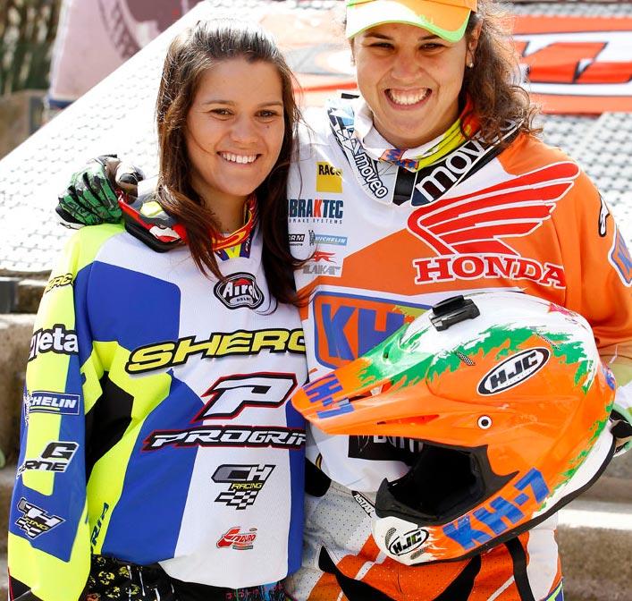 Jessica Gardiner and Laia Sanz