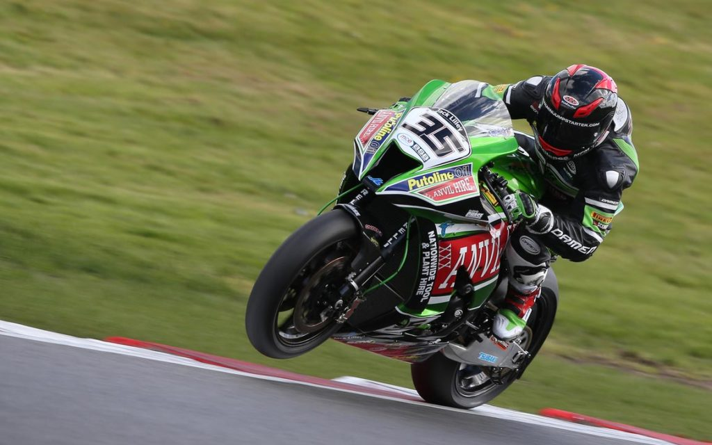 """Mitchell Carr: """"It's been a tough weekend with wet and sketchy qualifying and then a crash in race two. I'm new to everything, the track, the bike, everything…  but we are making some inroads and were getting closer to the group in front of us over the weekend. We changed some things on the bike between the races and that improved it in some areas, but I lost the front going into Druids. I'm happy that the first round is done and dusted and we can take a lot of positives on to Oulton Park in a few weeks time."""""""