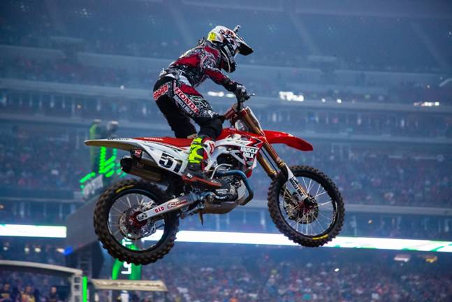 Justin Barcia (Team Honda Muscle Milk) runner-up second week in a row - Photo Credit: Hoppenworld