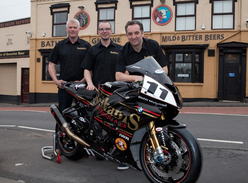 Michael Rutter with the Bathams-backed BSB Team in 2014