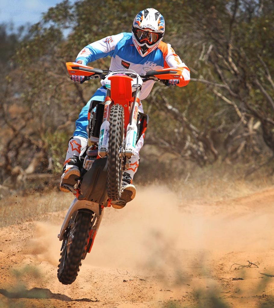 KTM Desert Racing Team rider and off-road motorcycle racing hero Ben Grabham will try for a hat-trick of wins when this weekend's WA round of the Australian Rally championship takes place at Busselton and Nannup.