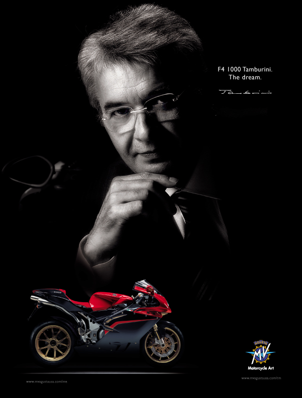 MV Agusta even saw fit to name a special edition of the F4 in his honour. The MV Agusta F4 Tamburini