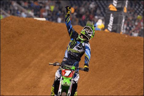 Ryan Villopoto had to overcome adversity to capture his fourth win of the 2014 season. - Photo Courtesy Simon Cudby