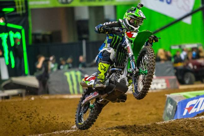 450SX Class Main Event Winner, Ryan Villopoto - Photo Credit: Hoppenworld