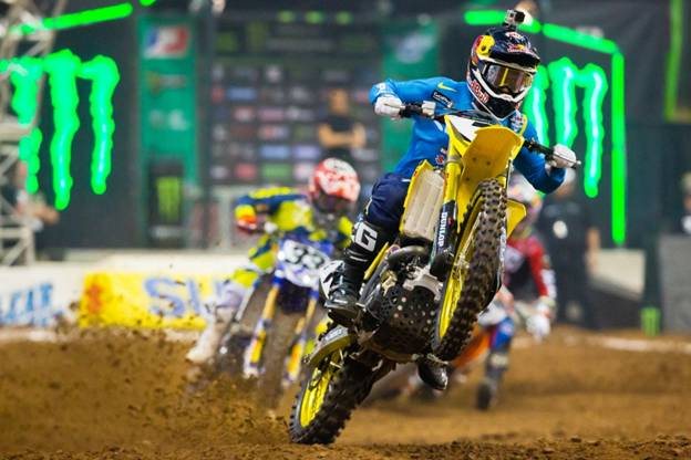 Second in the 450SX Class championship after Houston, James Stewart - Photo Credit: Hoppenworld