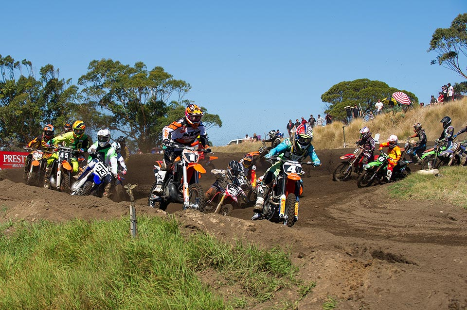 Celebrating its tenth year of promoting the Western Australian State Motocross Championships, the 2014 WAMX opening round had something to whet the appetites of the crowd at Coastal Park in Henderson, in Perth's southern suburbs.