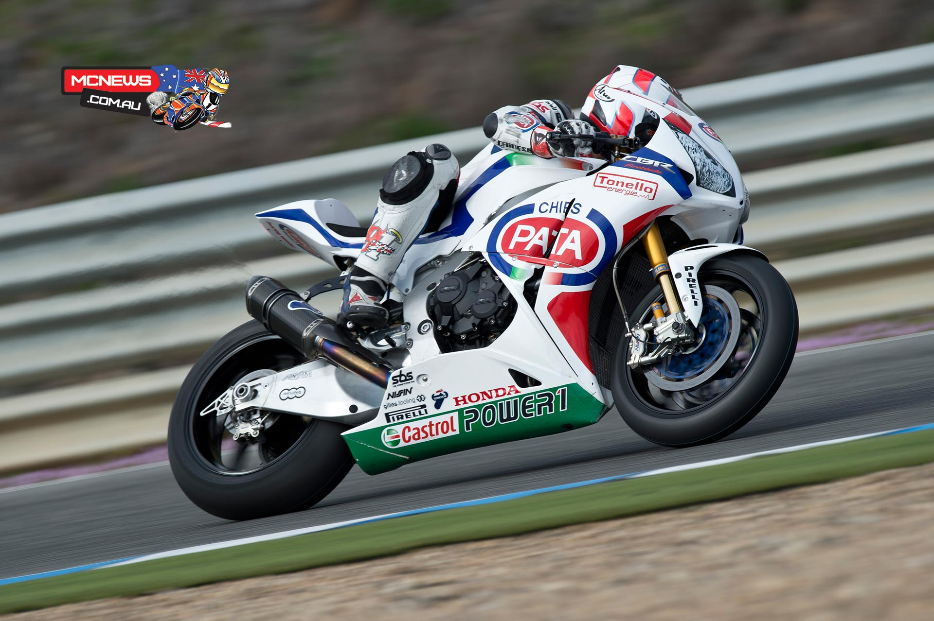 World Superbike 2014 - Jerez Test - Leon Haslam