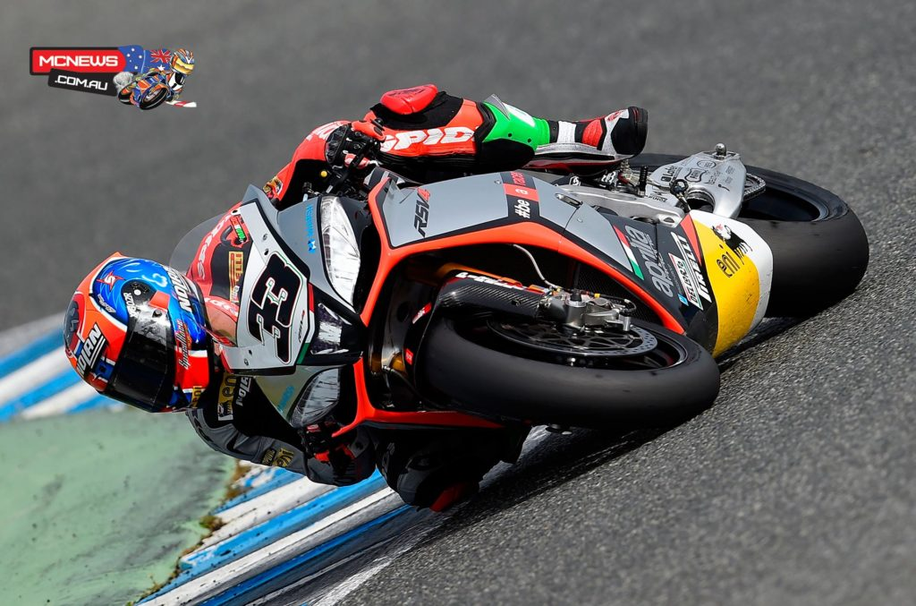 World Superbike 2014 - Jerez Test - Marco Melandri