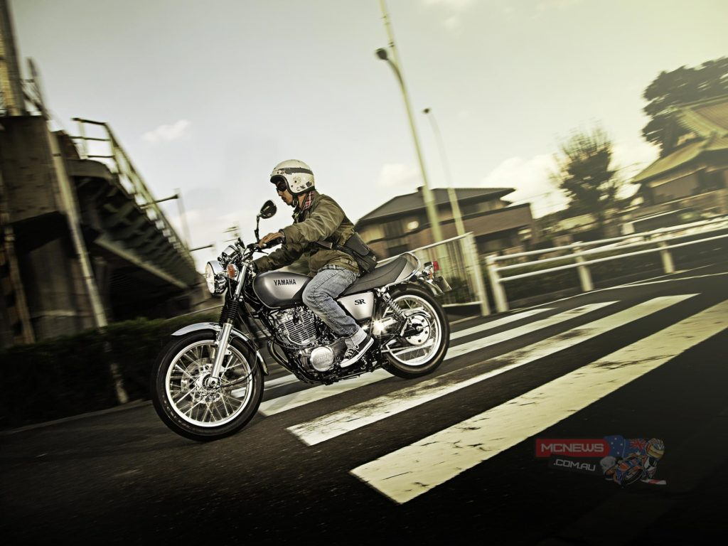 More than half of SR400 owners in Japan are younger than the bike they ride, which demonstrates that this timeless motorcycle has an enduring appeal with a newer generation of riders.