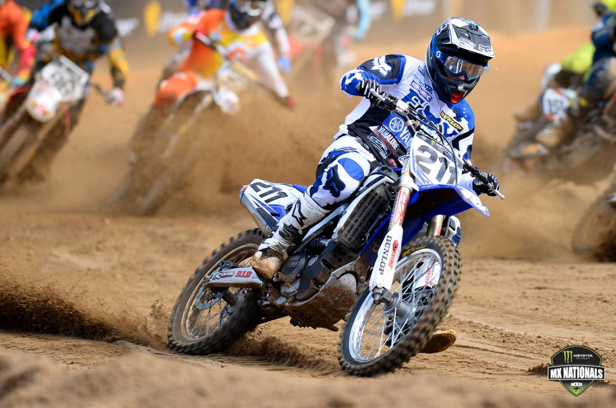 CDR Yamaha rider Billy Mackenzie has claimed the overall round win in the Monster MX1 class, at the fifth round of the 2014 Monster Energy MX Nationals.