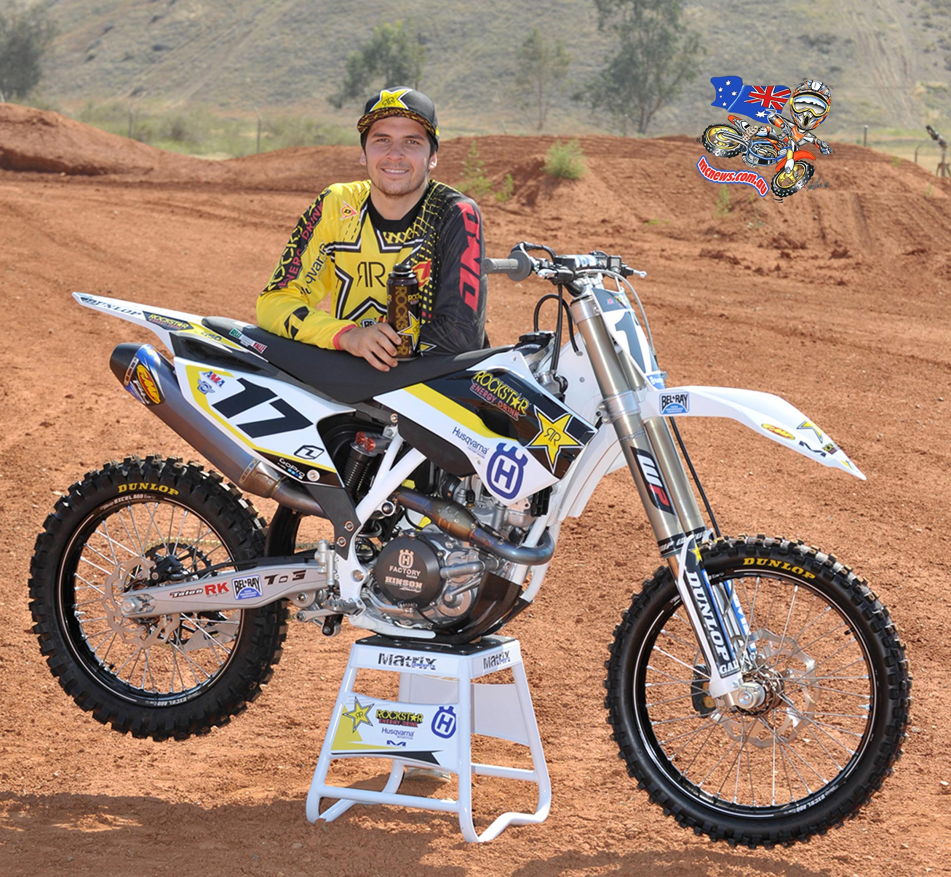 29bbde71 Husqvarna Announce Formation of AMA SX and MX Team