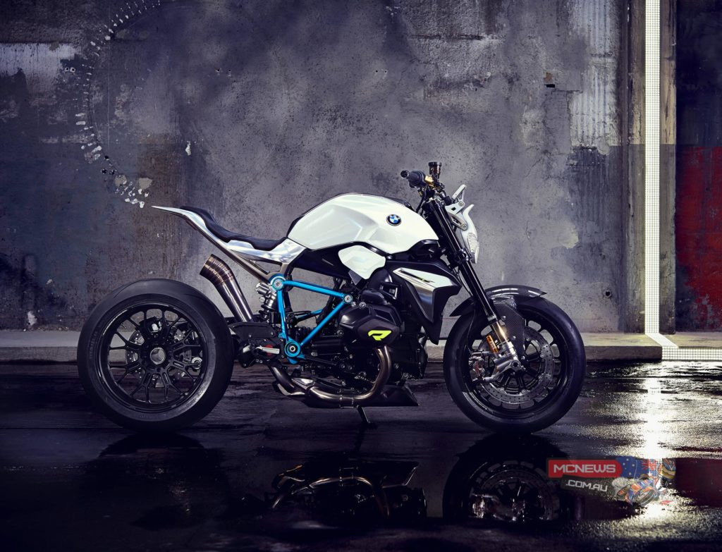 Clearly the Roadster Revolution 'concept' will become a reality, obviously with some changes to appease various registration authorities, but essentially the bike we see here is certain to become a reality and BMW is taking the concept approach once again to whet people's attitude and gauge reaction.