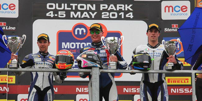 Billy McConnell claimed Supersport Victory at Oulton Park