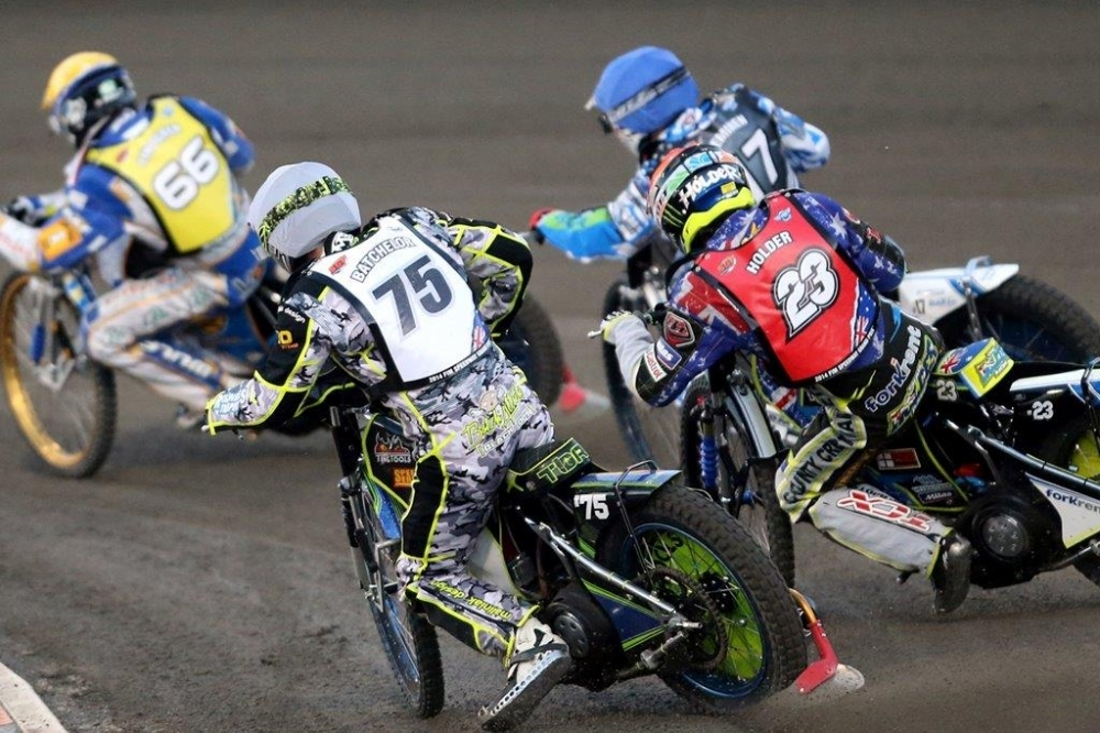 Troy Batchelor and Chris Holder