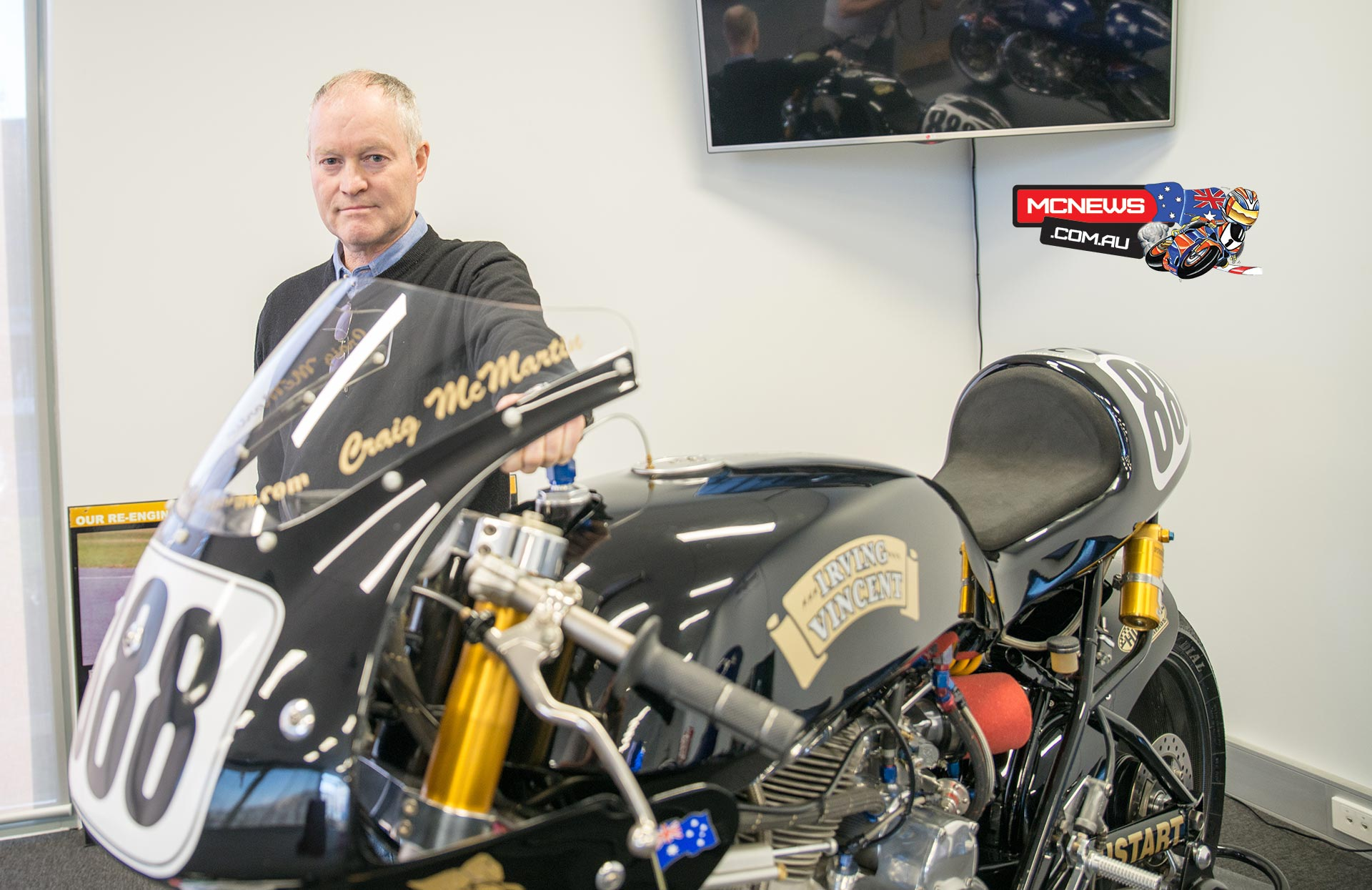 Ken Horner Engineering Open Day 2014 - Behind the Irving Vincent