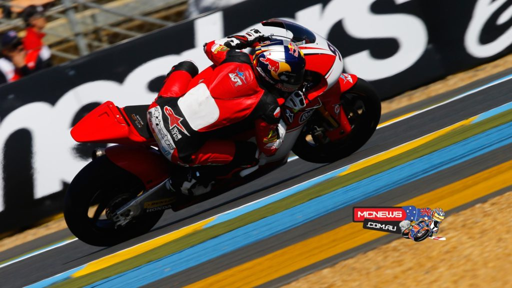 The Moto2™ race on Sunday at Le Mans will start with rookie Jonas Folger at the head of the grid, in front of Tito Rabat and Luis Salom on row one.