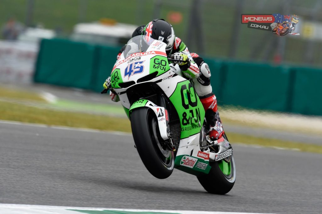 "SCOTT REDDING (18th - 1'50""440) - ""This morning the first free practice session was not too bad for me: it's been easier for me to learn the track because I've already tested a MotoGP bike here in the past. My lap times were all very close and I think that the limit was represented by the softer front tyre: the front was pushing a lot on corner entry and I was losing ground especially in sectors 1 and 3. I wanted to try the harder front tyre in the afternoon, but it was not possible, so we'll do it tomorrow, together with some small changes on the bike balance""."