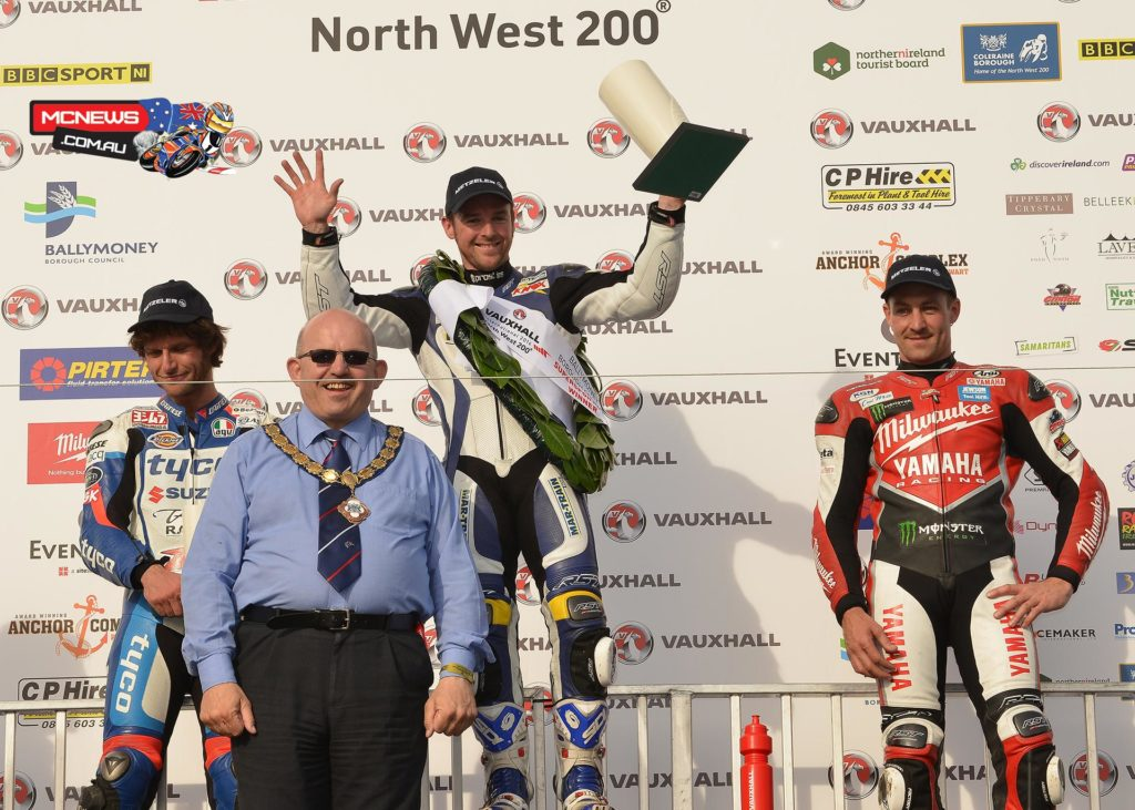 A new lap record of 116.606mph on lap four helped Seeley move past Brookes and then into the lead on the fifth lap but he was was pushed all the way by Guy Martin on the Tyco Suzuki on the Coast road on the final lap.