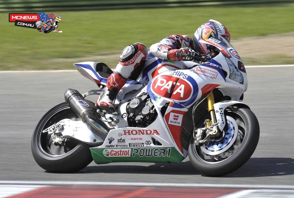 Jonathan Rea (Pata Honda World Superbike) topped the timesheets courtesy of a 1'47.225 lap time set in the afternoon, ahead of Chaz Davies (Ducati Superbike Team) and Toni Elias (Red Devils Aprilia), all three within 0.158s of each other.