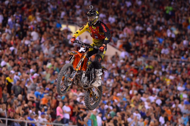 Jason Anderson won his first 250SX Class Championship - Photo Credit: Simon Cudby