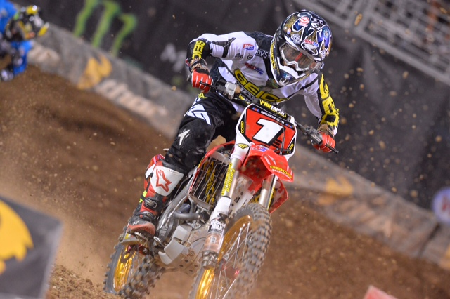 Justin Bogle wears his well-deserved number-1 plate - Photo Credit: Simon Cudby