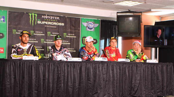 Justin Bogle, Jason Anderson and Cole Seely hope to join Ryan Villopoto as a 2014 champion